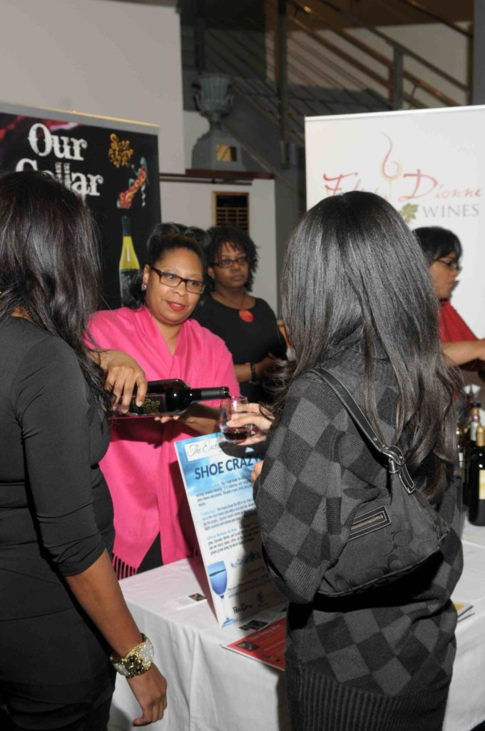 Wine cub founder Benita Johnson