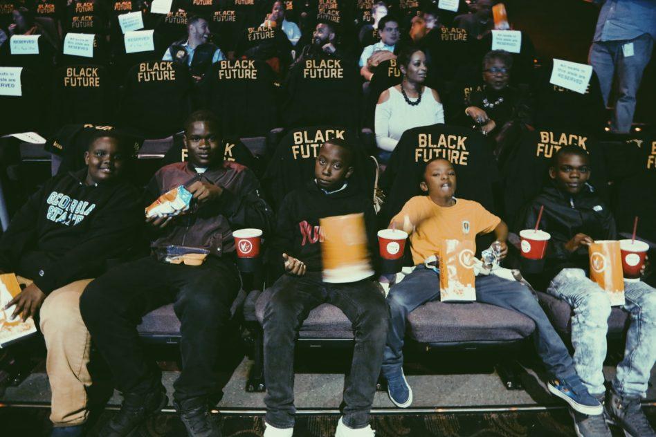 Black Panther Screening (Image: Oakland Athletics)