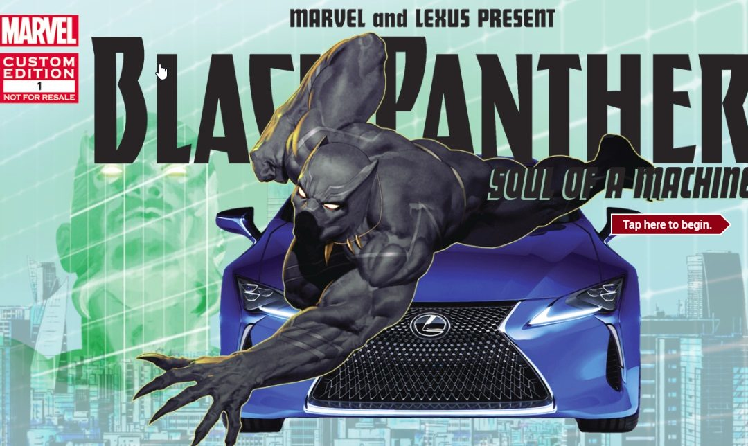 Black Ad Agency Brokered Partnership Between Lexus and Marvel for 'Black Panther'