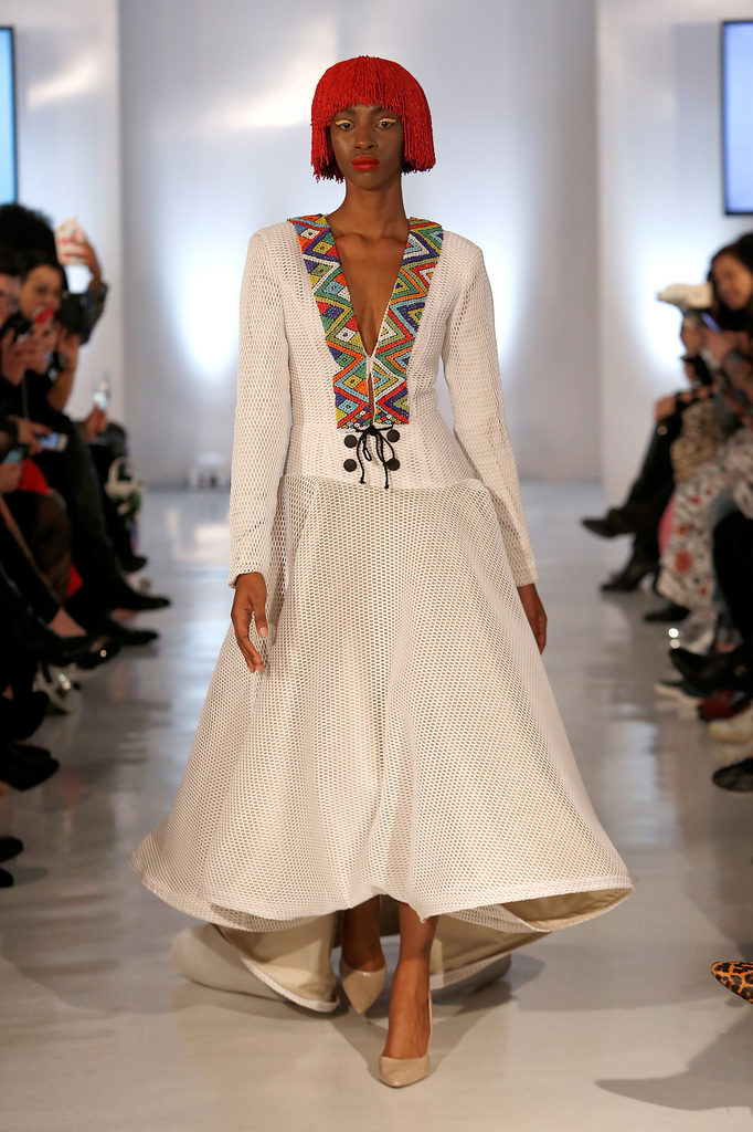 Nandi Madida Fashion Week
