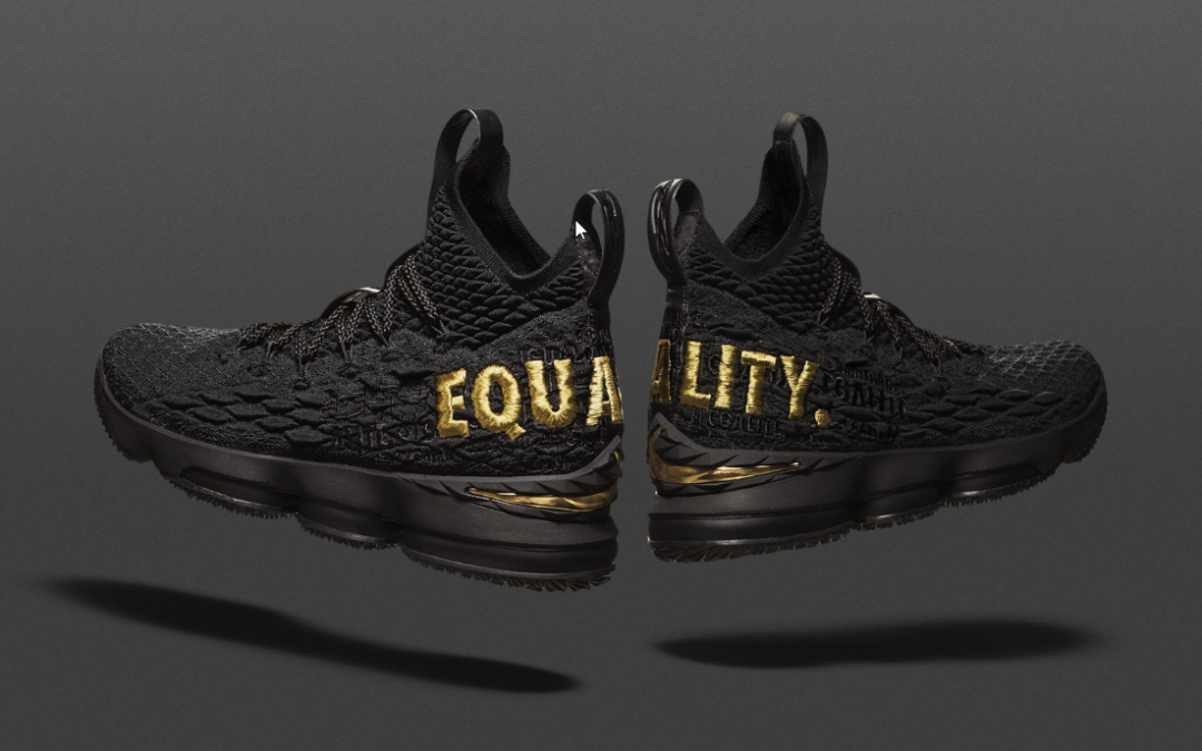 Nike Giving Away 400 LeBron James 'Equality' Sneakers to  Raise Awareness
