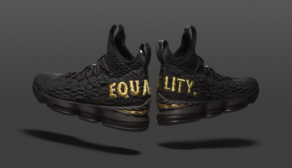 c592286023a Nike Giving Away 400 LeBron James  Equality  Sneakers to Raise Awareness -  Black Enterprise
