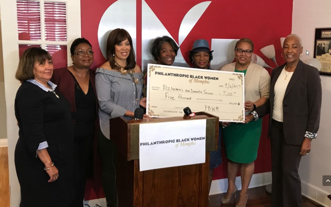 Eight Philanthropic Black Women of Memphis Pool Resources to Give Back to the Community