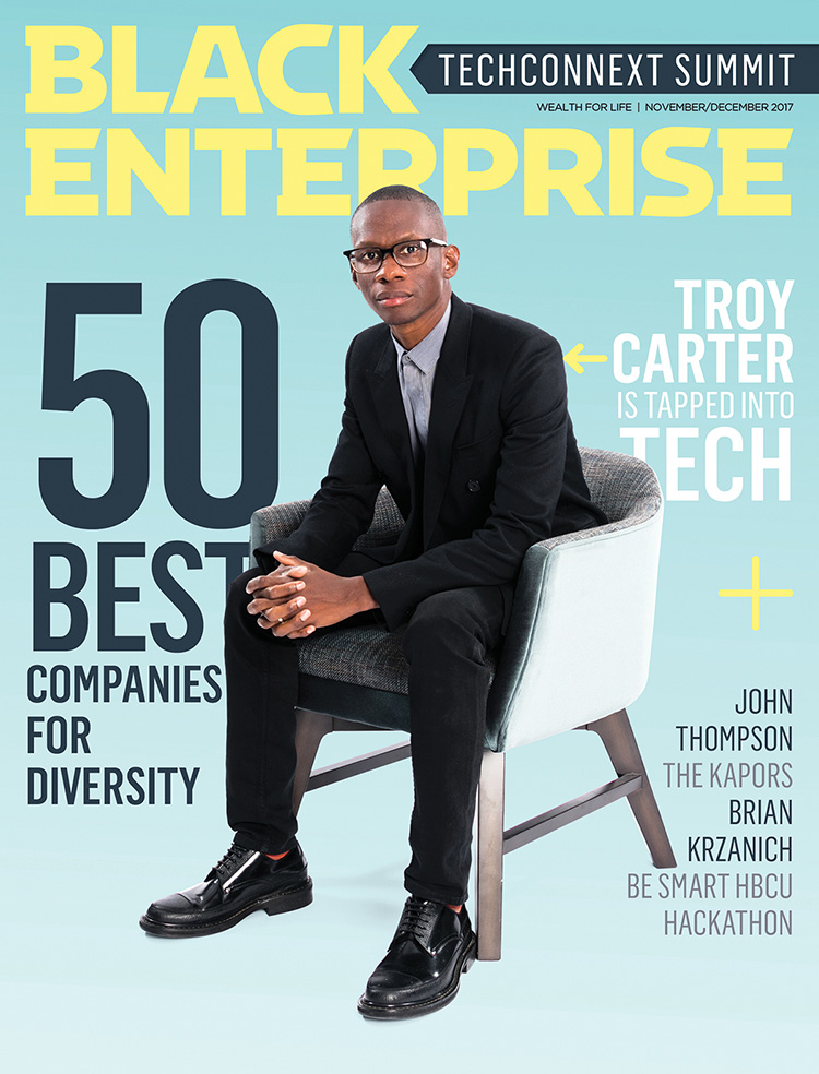 Black Enterprise magazine November/December 2017 issue