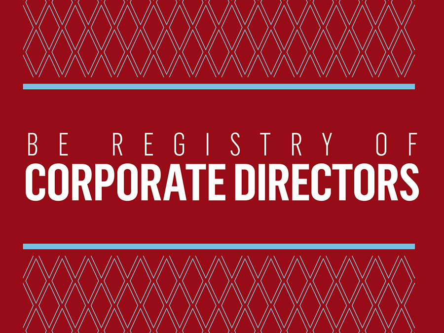 B.E. Registry of Corporate Directors