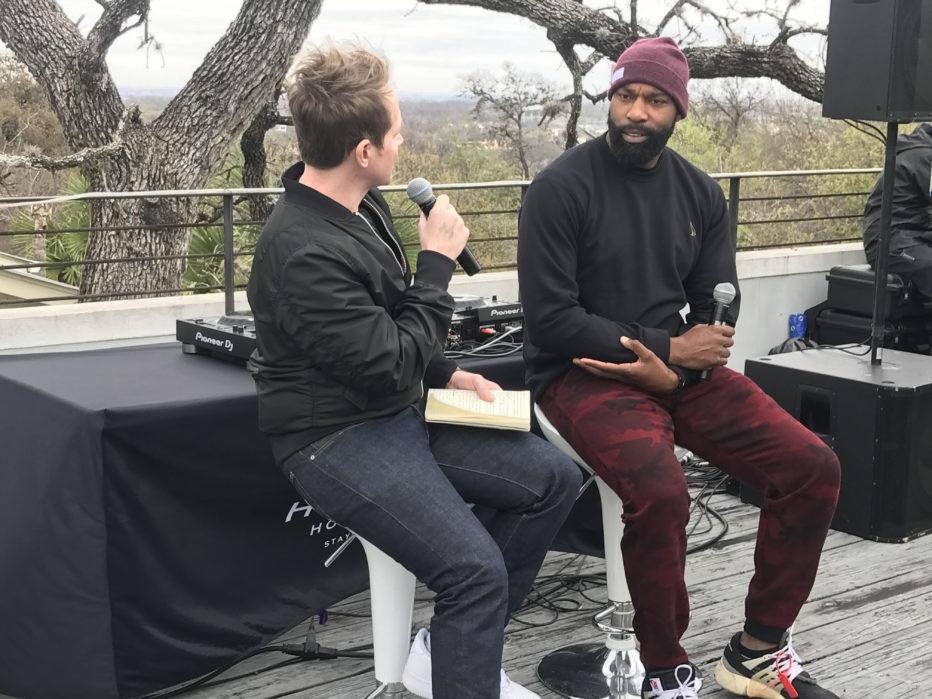 Baron Davis Fireside Chat at Culture House (Image: Cross Culture Ventures)