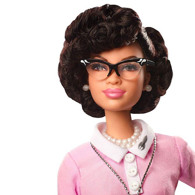 'Hidden Figure' Katherine Johnson Inspires Barbie's New Line of Dolls on International Women's Day