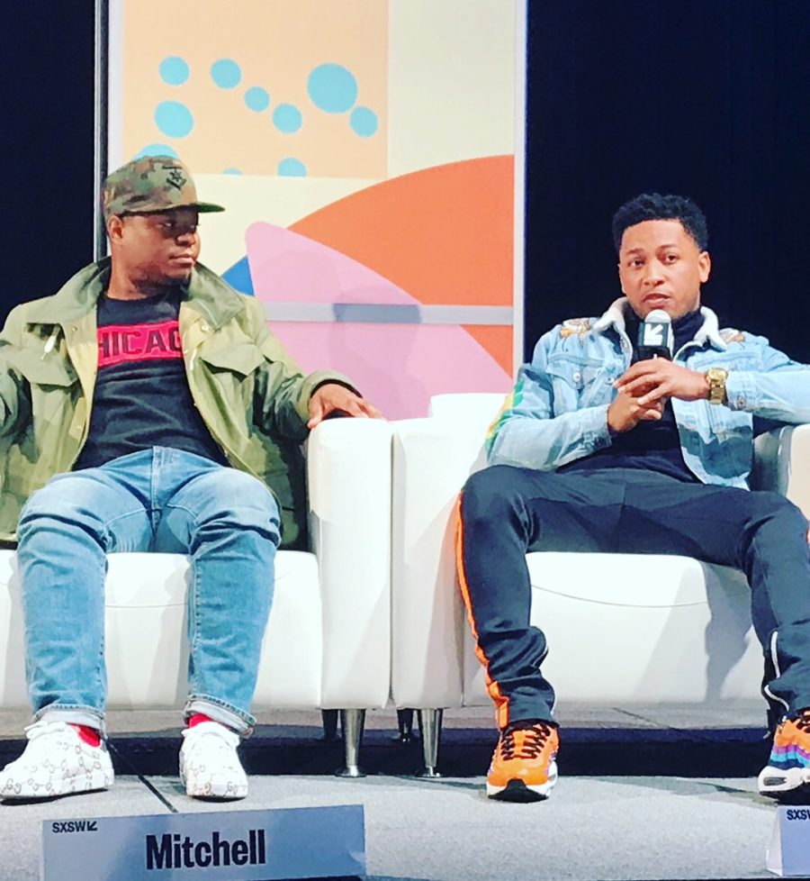 Actors, Jason Mitchell and Jacob Latimore; 'The Chi' panel at SXSW (Image: file)