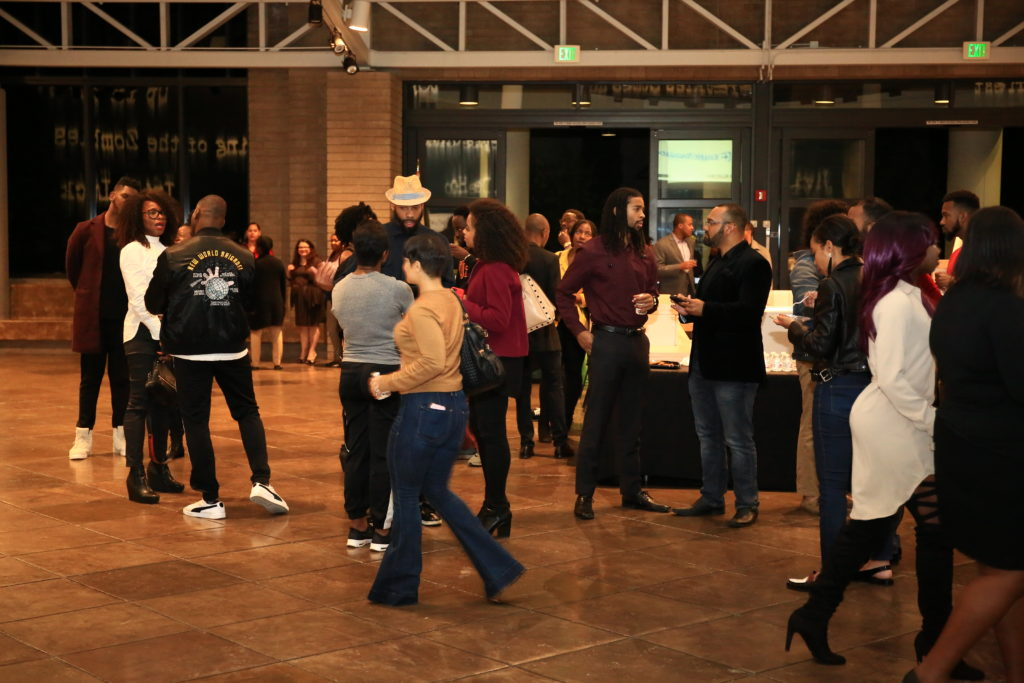 Black Tech Weekend LA Kick-off party at the California African-American Museum (Image: Serbaffo)
