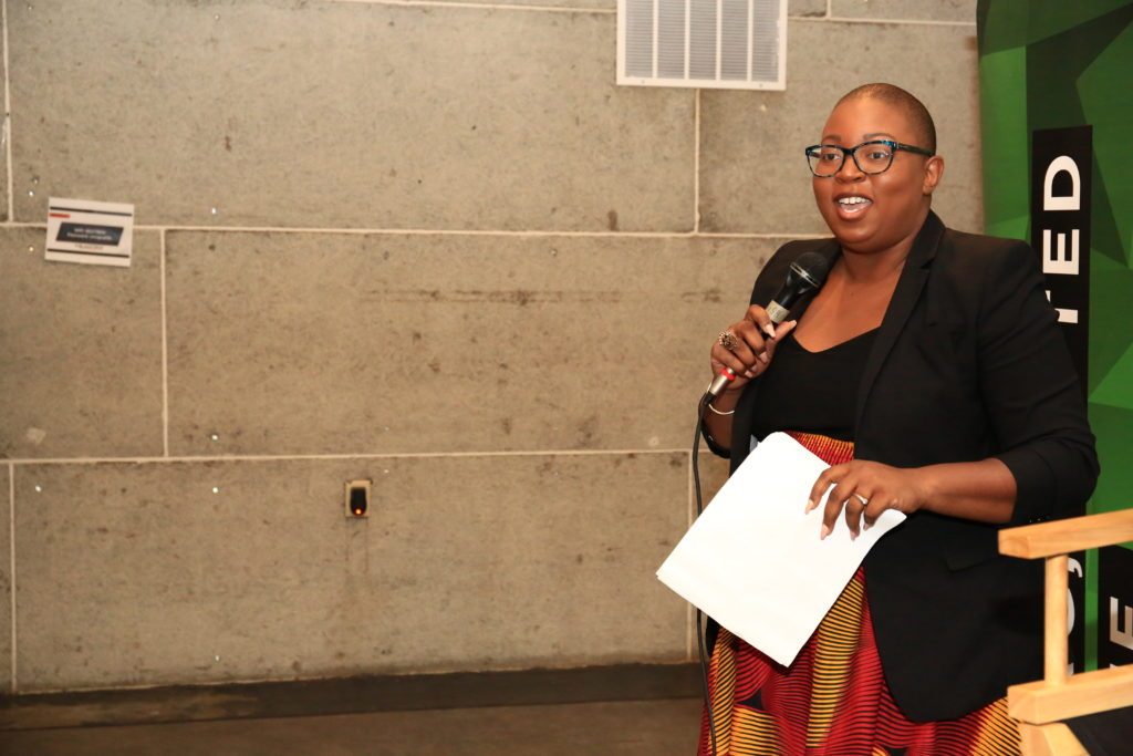 Co-Founder of Black Tech Week Miami, Felecia Hatcher (Image: Serbaffo)