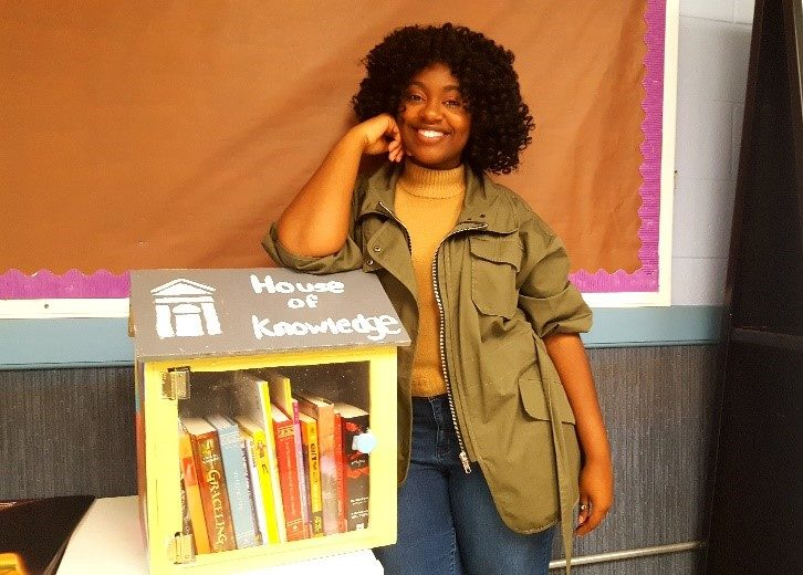 Spelman Student Sets Sights on Raising Literacy Rates