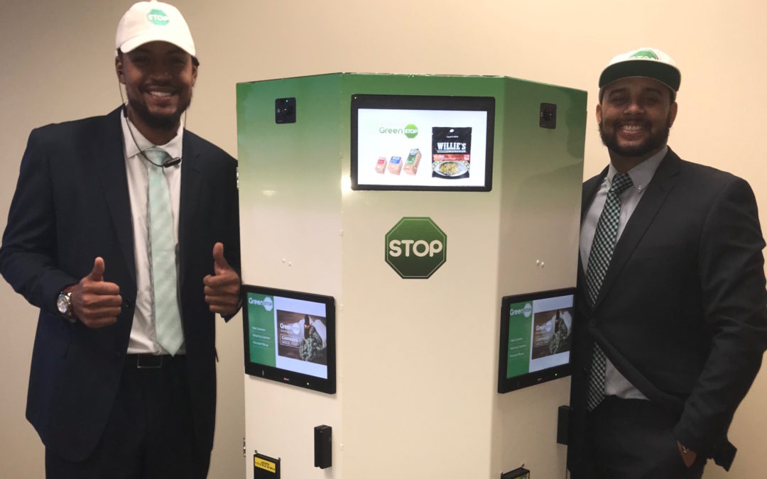 The World's First Four User Self-Service Weed Kiosk Has Arrived