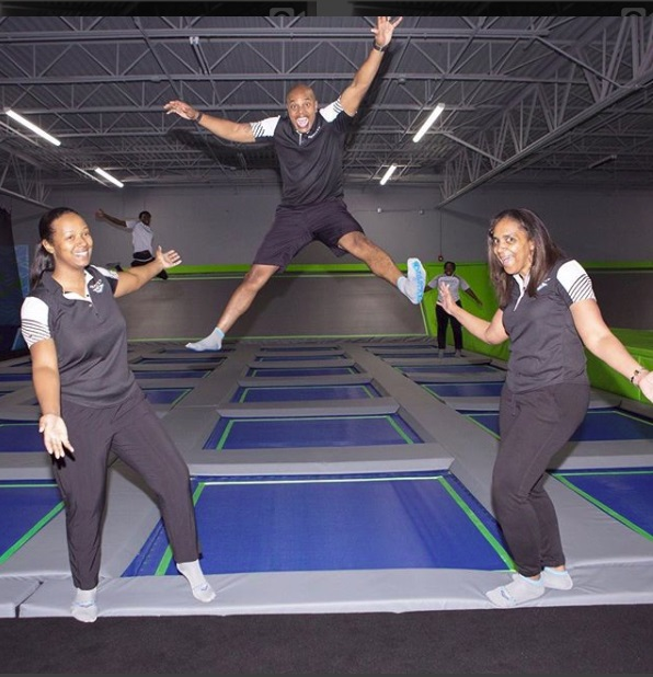 Could This Be The Only Black-Owned Trampoline Park?