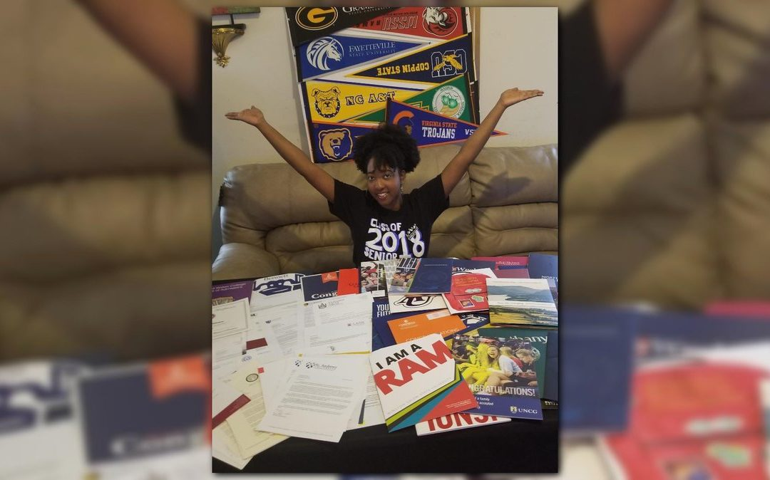 North Carolina Teen Awarded $4.5 Million In Scholarships, Gets Accepted Into 113 Colleges