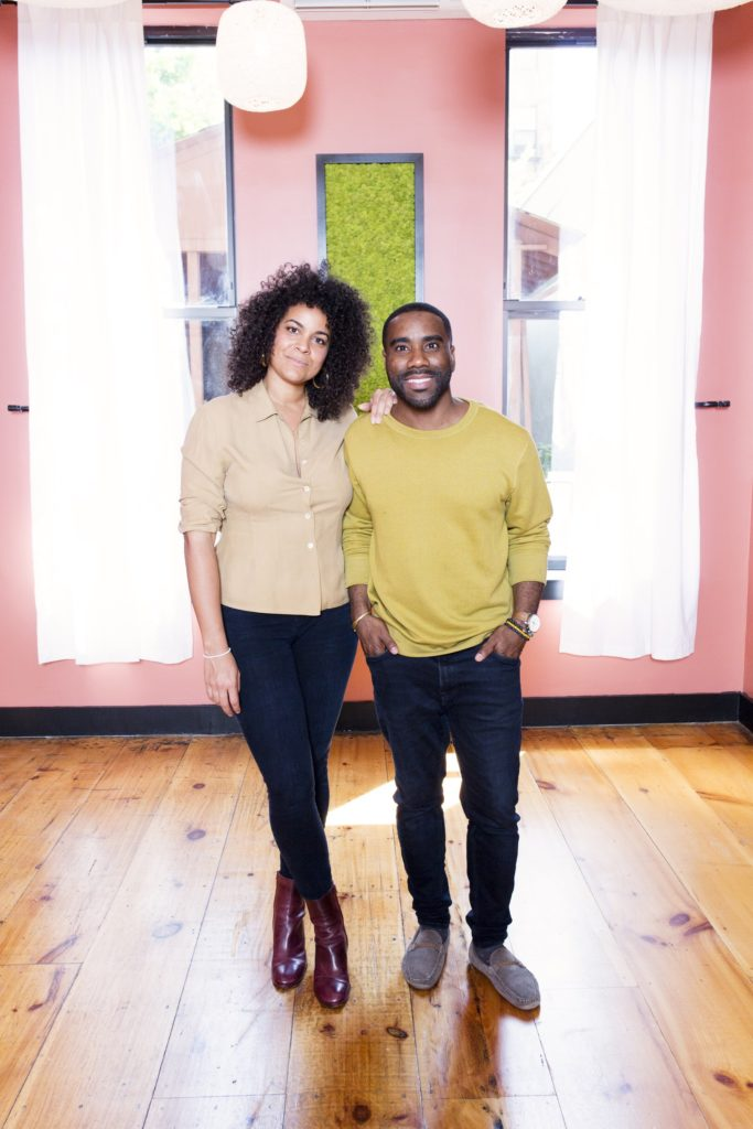 Co-Founders of Wellness Space and Cafe, Elisa Shankle and Damien Hall (Image: Healhaus)