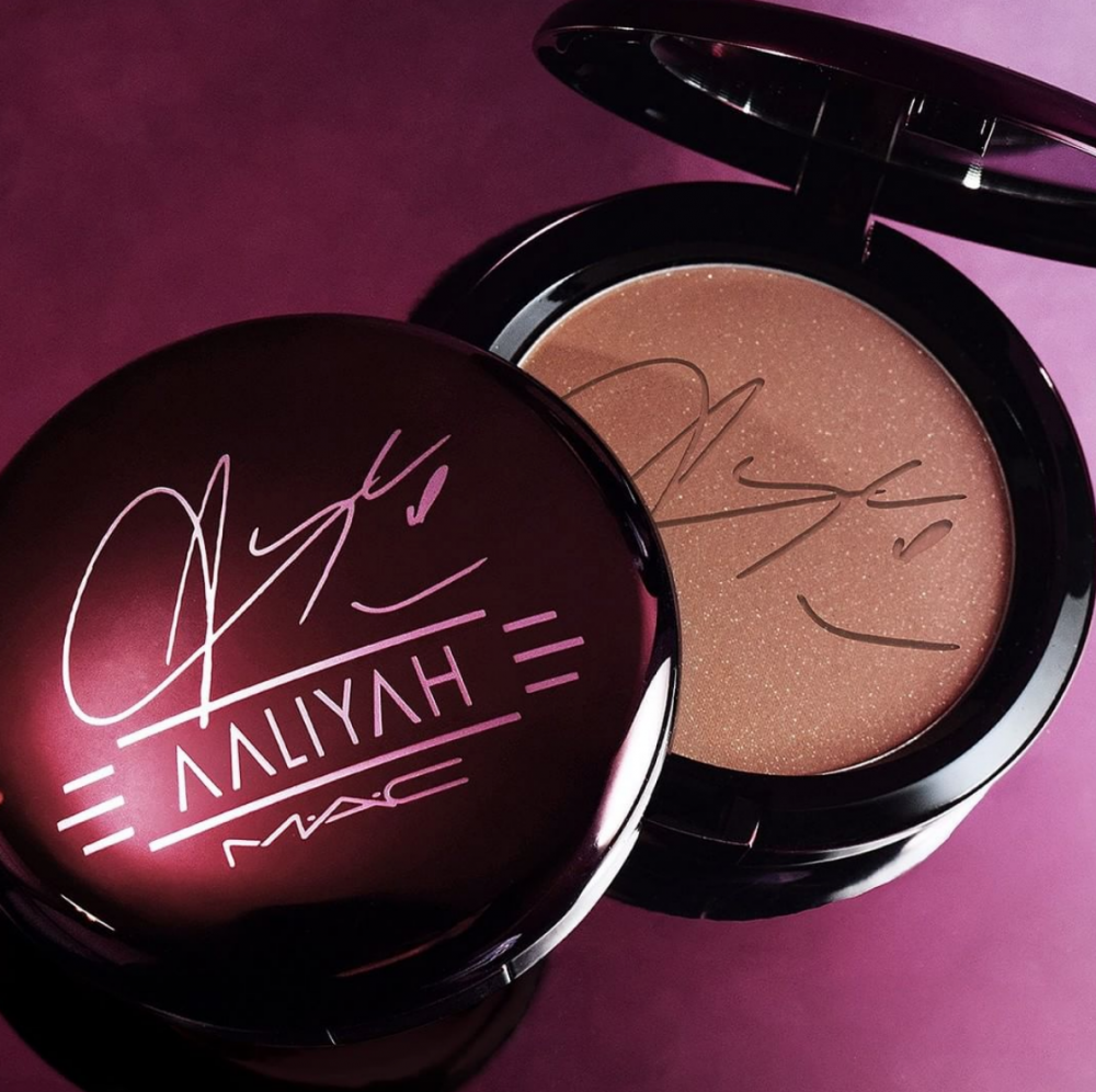 MAC Cosmetics, Aaliyah Collection (Image: Mac Cosmetics, Instagram)