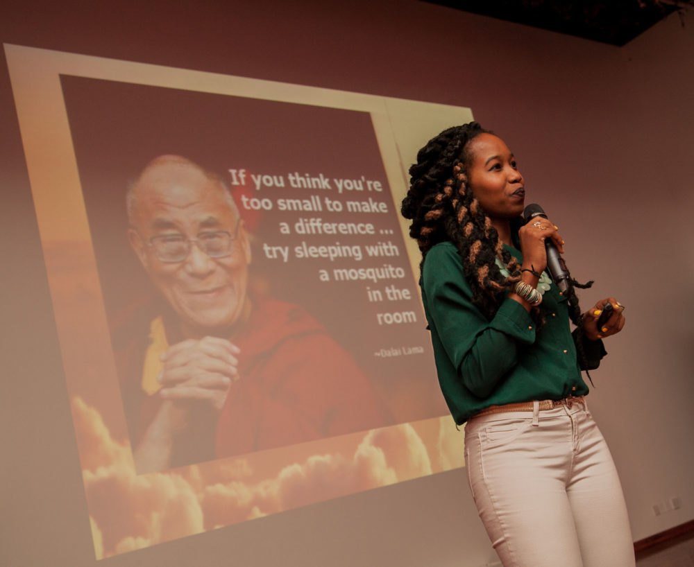 Founder, Christine Ntim (Image: Haiti Tech Summit)