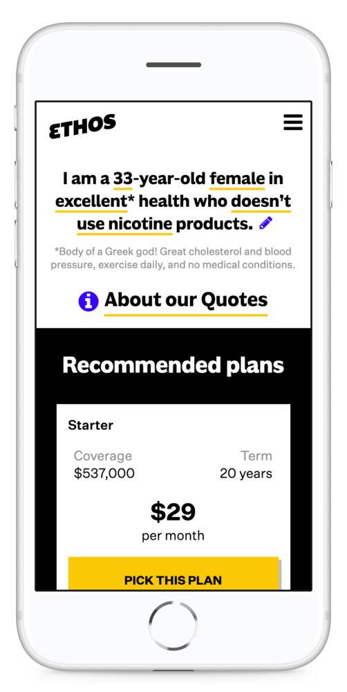 life insurance startup