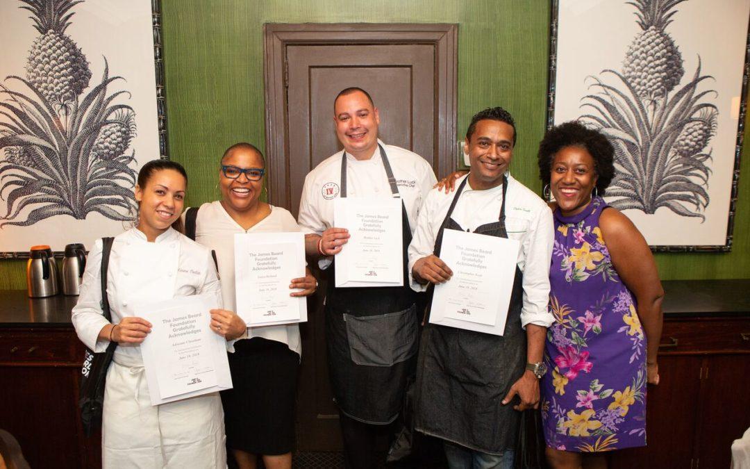 Bravo's 'Top Chef' Stars Celebrate Juneteenth at the James Beard House
