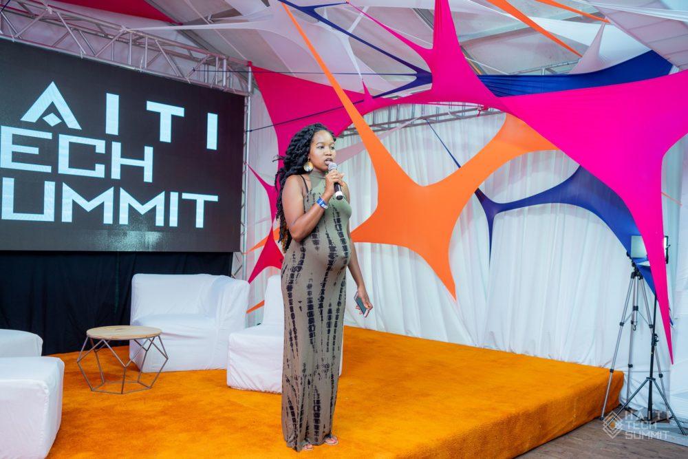 Founder of Haiti Tech Summit, Christine Ntim (Image: Haiti Tech Summit)