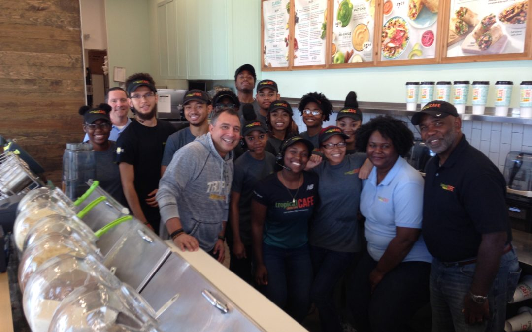 Urban Maryland Family Breaks Barriers with Tropical Smoothie Café Franchise