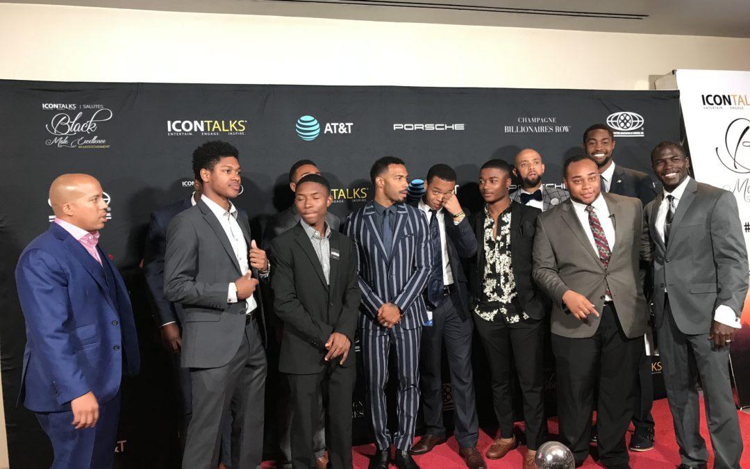Omari Hardwick Turns the Tables Spotlighting Young Black Man During Award Acceptance Speech