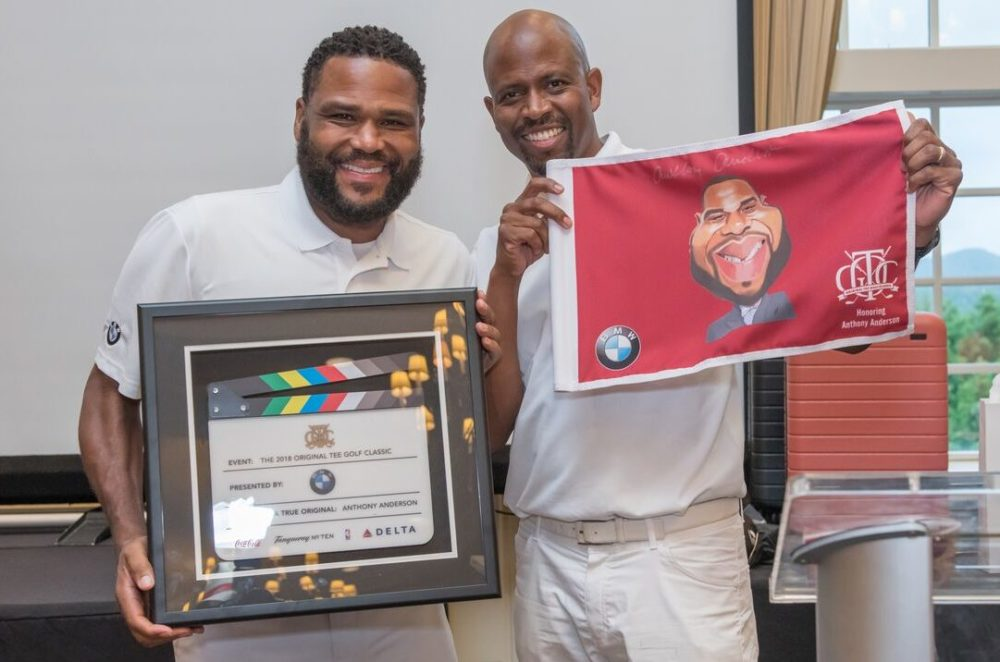 'Black-ish' Star Anthony Anderson, Celebrities, and Athletes Celebrate African Americans in Golf