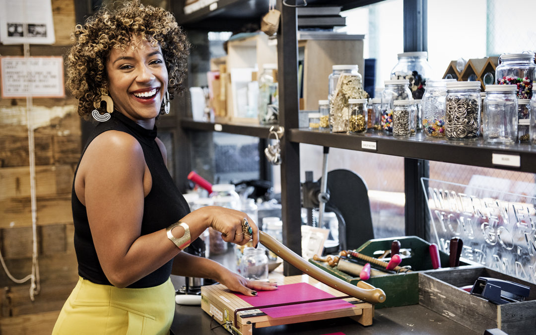 The Face of Etsy.com is a Black Millennial Woman and You Can Watch Her on TV