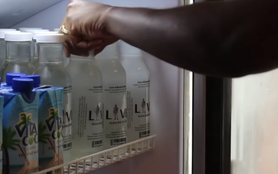 First Black-Owned Alkaline Water Brand Sold at Walmart