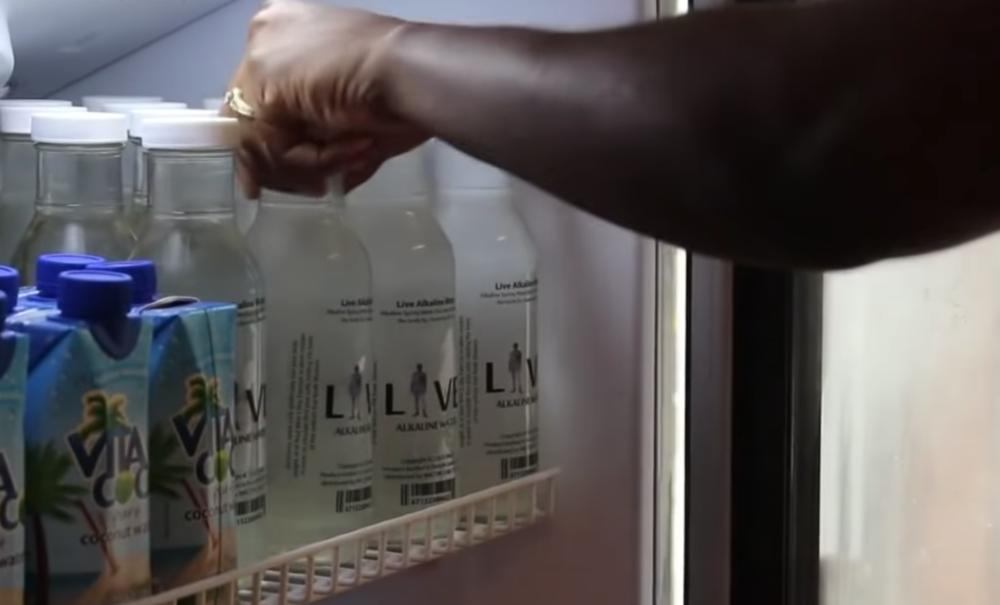 Live Alkaline Water (Image: YouTube)