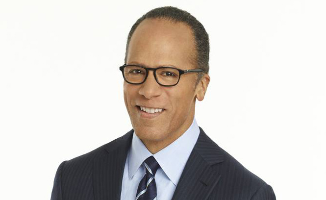 NBC's Lester Holt Is All About the Low Notes
