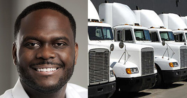 This Once Homeless, Black Entrepreneur Now Owns a $20M Trucking Company