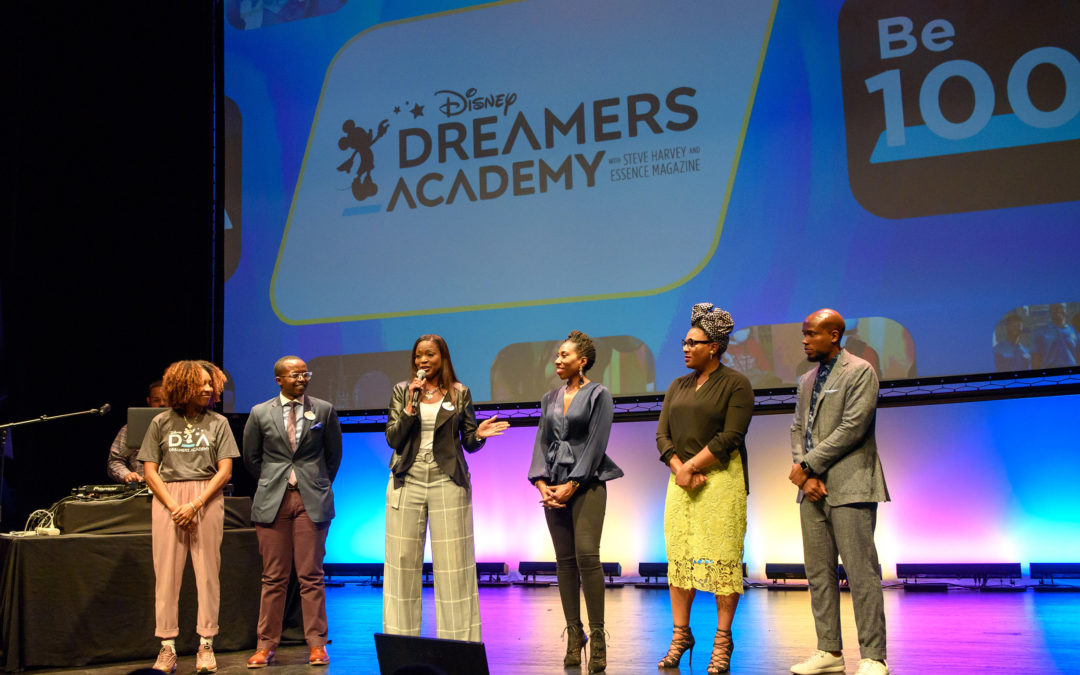 "Disney Dreamers Academy Presents ""100 Minutes To Empower Your Dreams"""