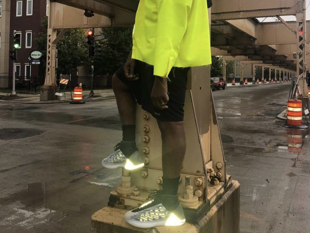 Kanye West's Basketball Sneaker Banned From NBA