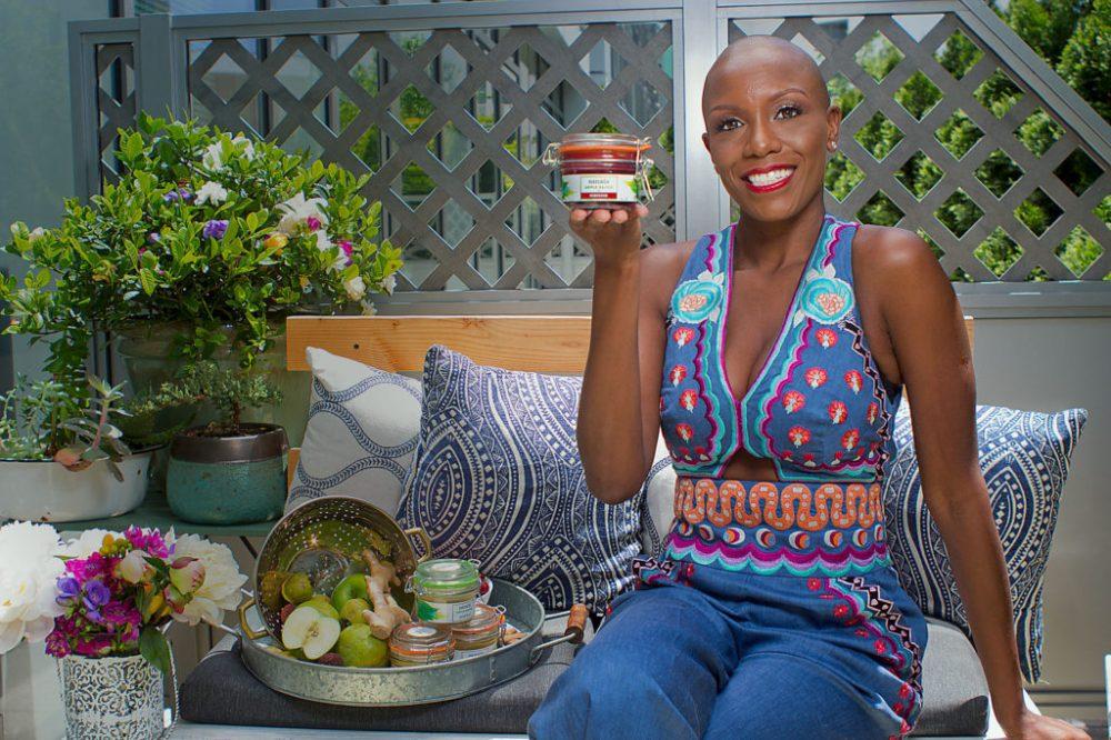 Sanaia Applesauce CEO Keisha Smith Jeremie