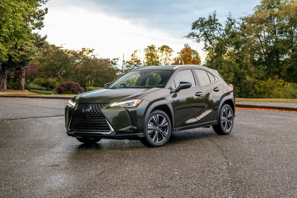 Lexus Ux Nori Green Courtesy Of