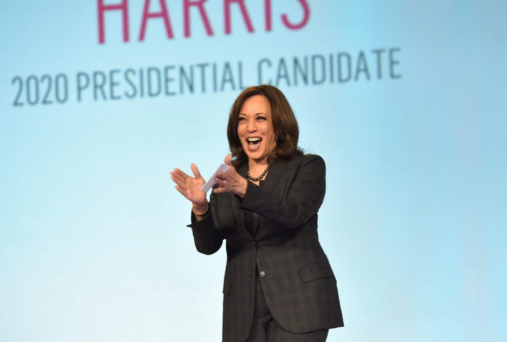 Kamala Harris Addresses Criticism, Black Girl Magic, And More at Women of Power Summit