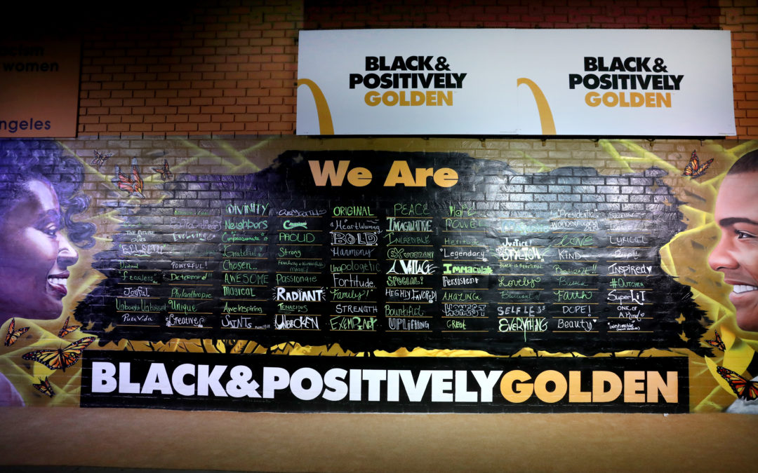 McDonald's Celebrates Black Excellence Through New 'Black & Positively Golden 'Campaign