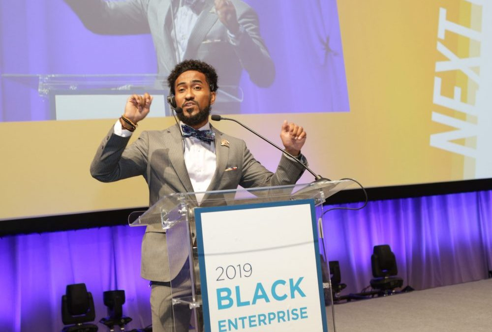 What It Takes To Be A Black Enterprise Event Speaker