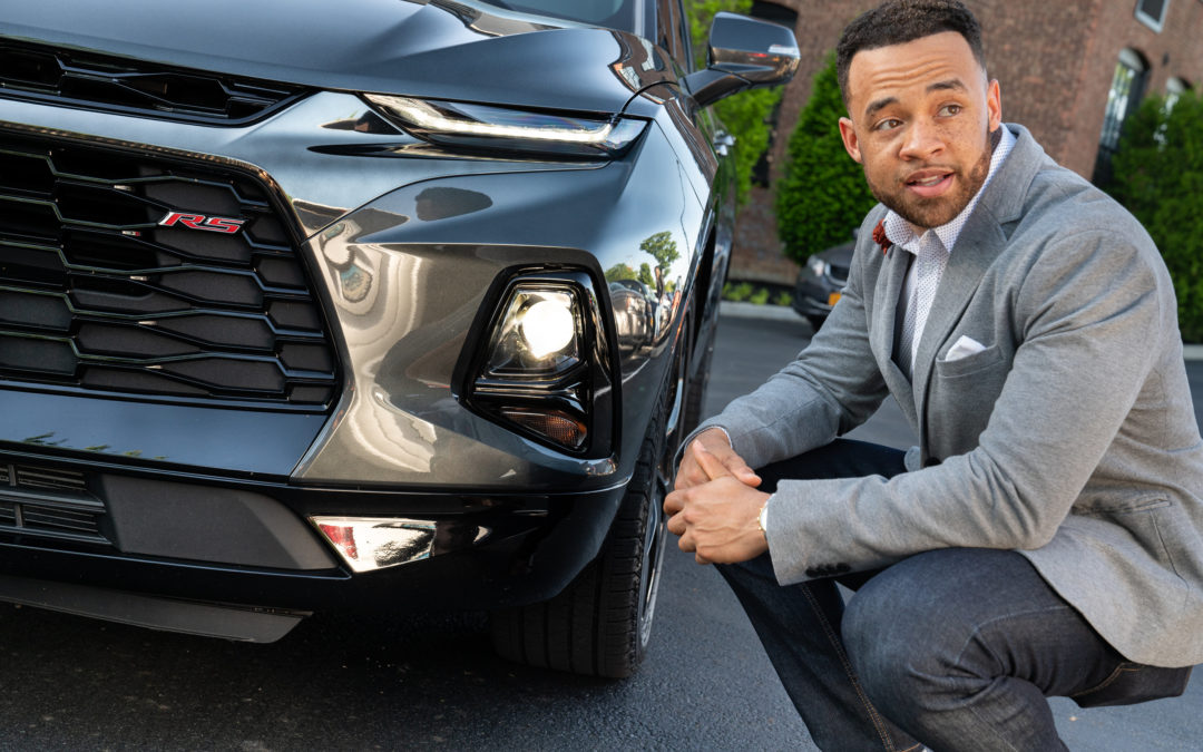 General Motors Gives the Iconic Chevy Blazer a Reboot with Help from This Young, Black Aerodynamics Engineer
