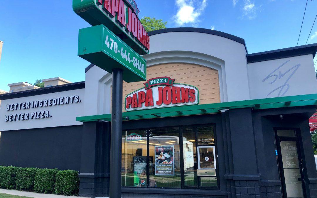 Shaq Invests in Nine Atlanta-Area Papa John's Restaurants