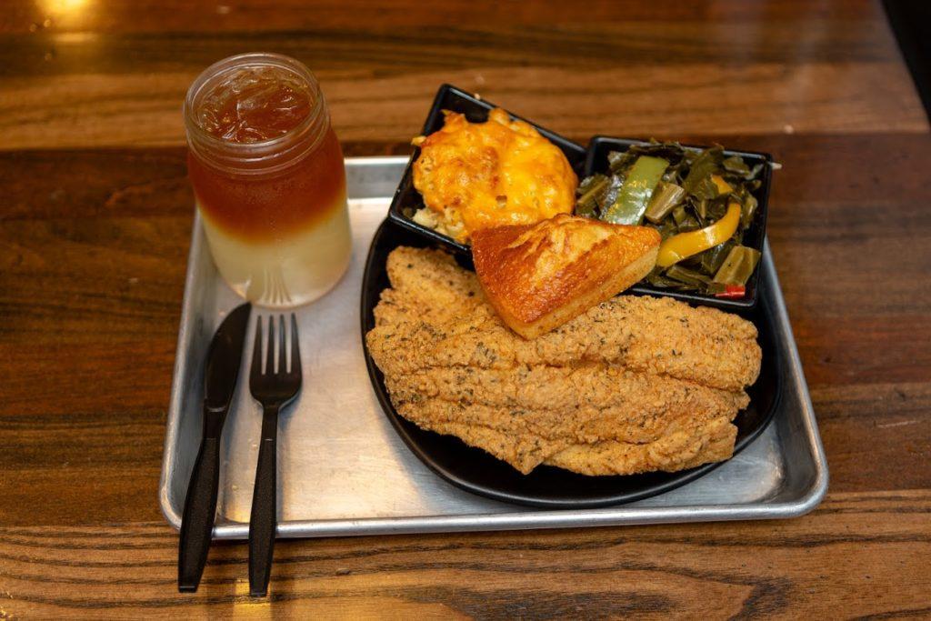 Cornbread soul food restaurant