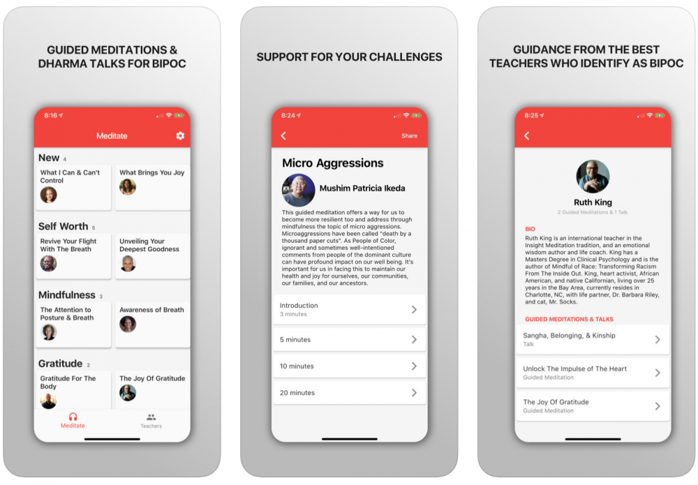 Meditation App for People of Color