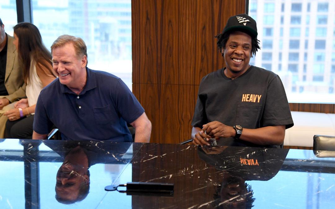 Jay-Z on NFL Partnership: We've Moved Past Kneeling. Let's Take Action