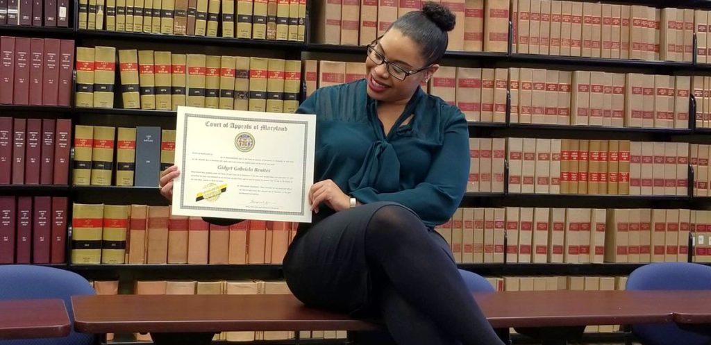 Afro-Latina attorney Gidget Benitez