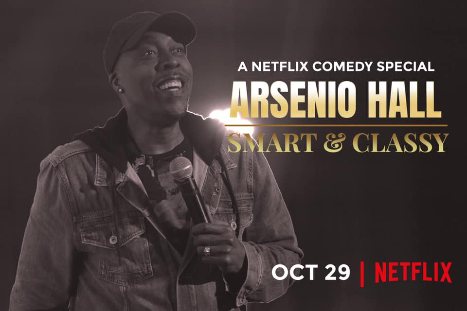 Arsenio Hall Will Be 'Smart and Classy' on Netflix