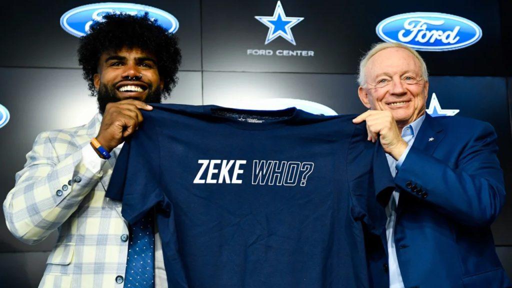 Ezekiel Elliott becomes highest paid NFL player at running back