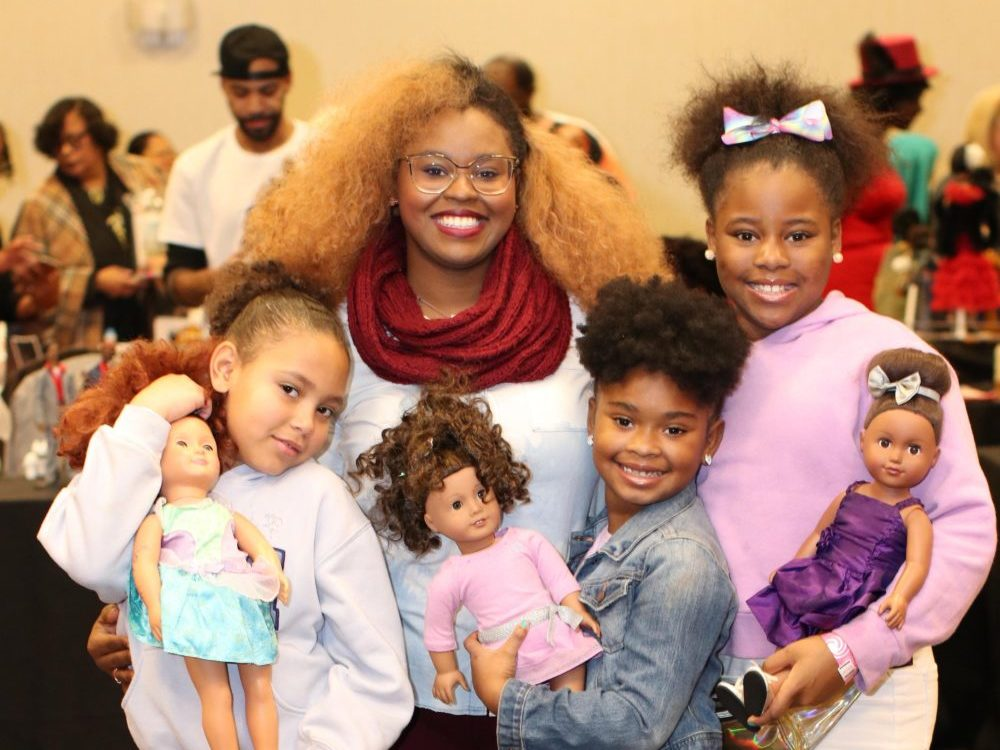black doll show expo