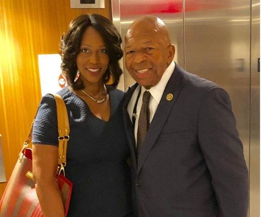 Rep. Elijah Cummings' Widow, Maya Rockeymoore Cummings, Plans to Run for Congress