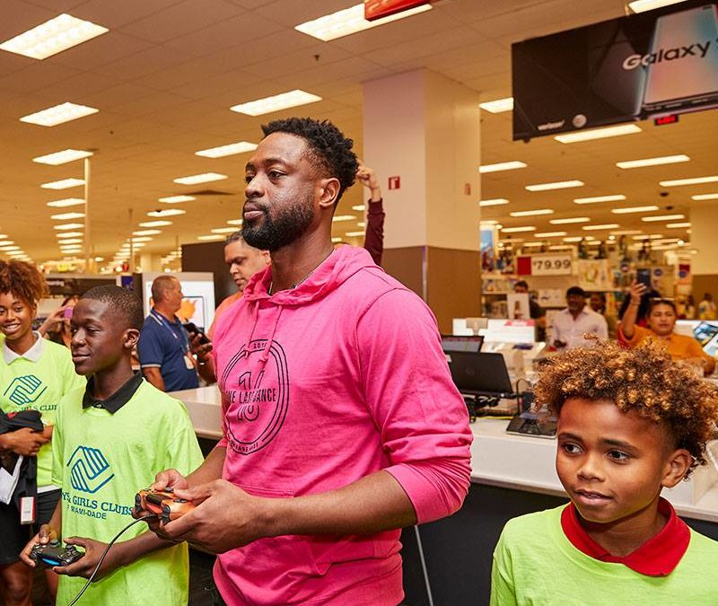 Dwyane Wade Launches Sock Line PKWY at Target Stores Nationwide